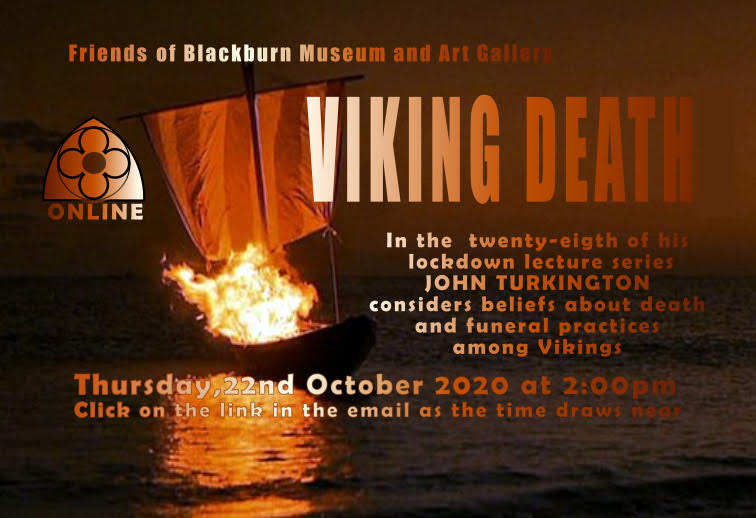 On-Line Zoom Lecture re Viking Deaths